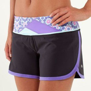 Lululemon Groovy Run Short Black Quilt Summer13 6